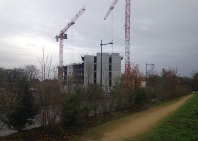 Surveillance chantier construction