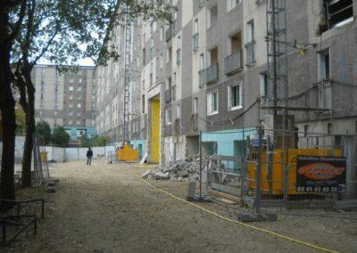 Surveillance chantier de démolition