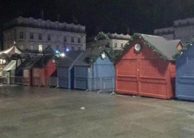 gardiennage marché de Noël