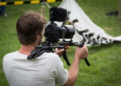 Surveillance tournage de film